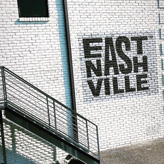 "Keepin' it ""east nasty""  #nashville #615 #eastnashville"