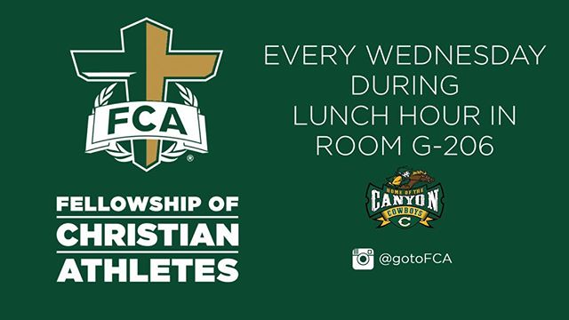 Canyon UTURNers - Don't forget FCA meets on Wednesday 🤘🏼