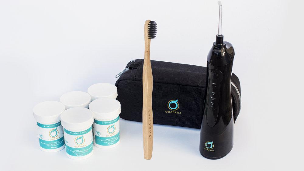 Orasana Introducted Optimum Oral HEalth Package by Dr. Sanda Moldovan -