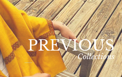 Previous collections from the Pashmina Atelier