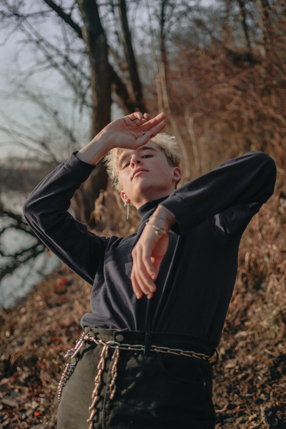 Alexander Knepley (alsotakephotos) - Alexander Knepley is an 18 year old artist in northwest ohio. Currently attending CCS in detroit for a degree in fine art. Photo by Jordyn Belli (@sleepykiwis)