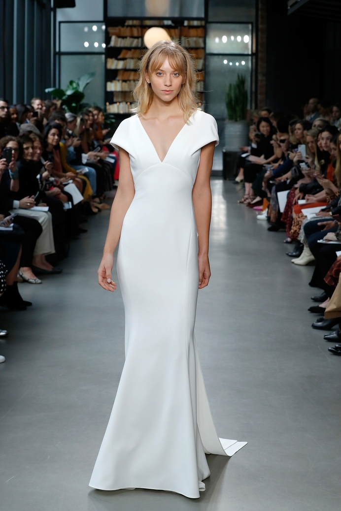 """Amsale - """"Kai"""" gown from Fall 19 Bridal Collection"""