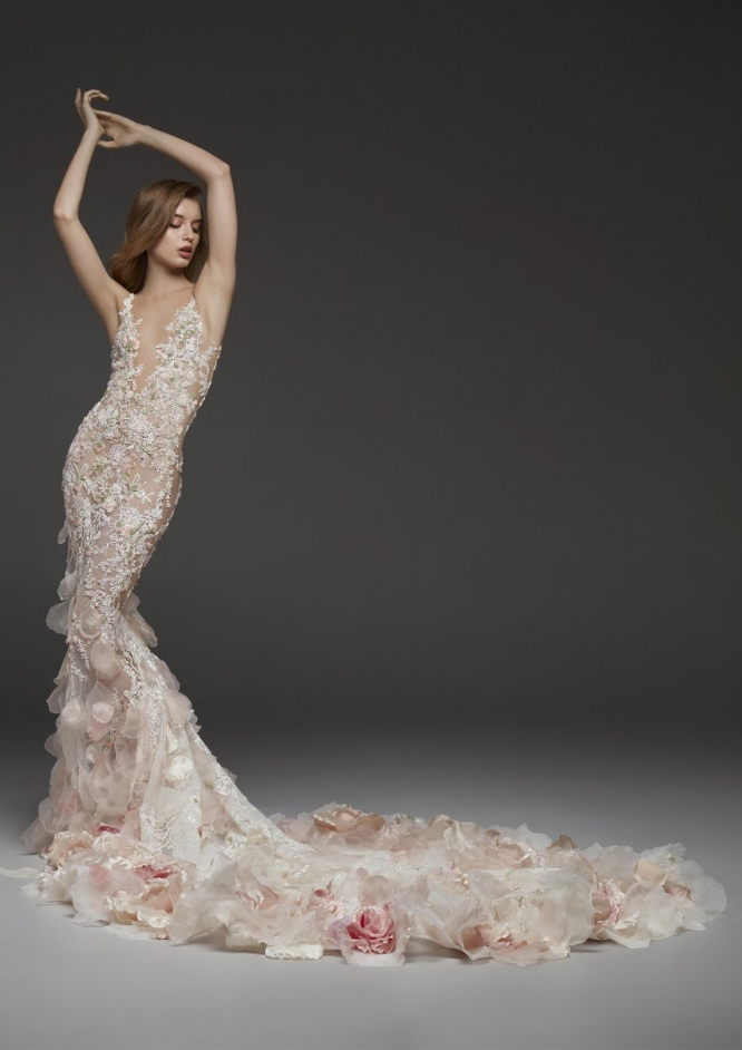 "Pronovias - ""Carolina"" gown from Fall 19' Bridal"
