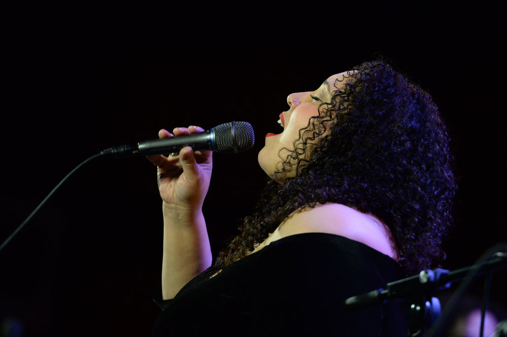 Brianna Thomas. Photo by Frank Stewart.