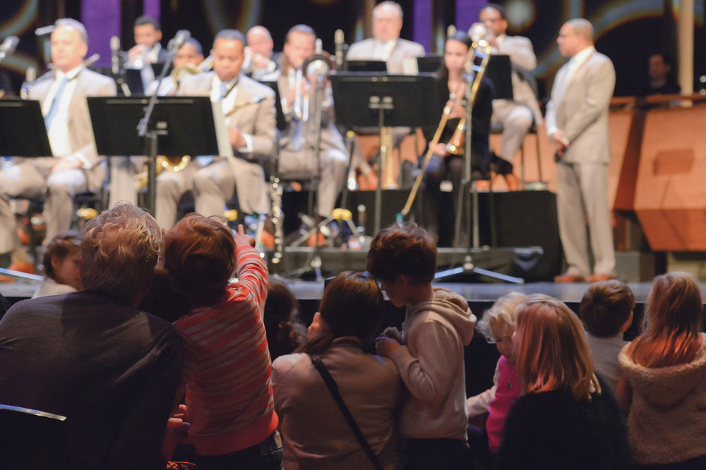 Jazz at Lincoln Center Orchestra. Photo by Frank Stewart.