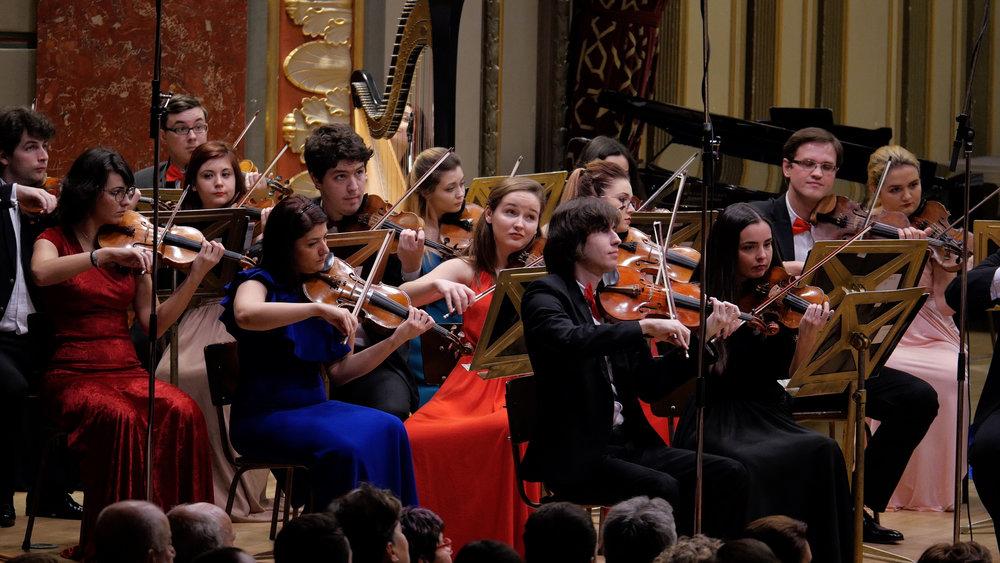 National Symphony Orchestra of Romania. Photo by Virgil Oprina.