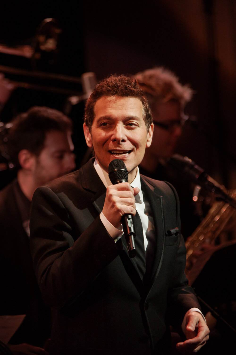 Michael Feinstein. Photo by Lawrence Sumulong.