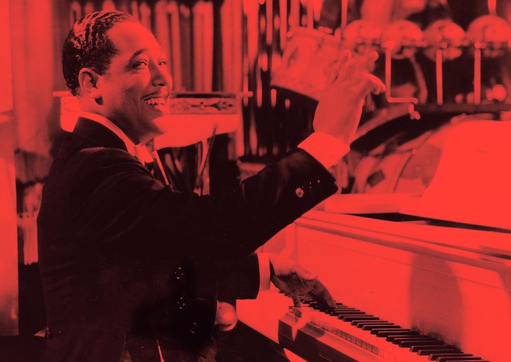Duke Ellington. Photo Courtesy Frank Driggs Collection.