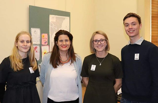 #wcjpwhatsupwednesdays  After a long exam period and holiday we're back! Our volunteers have been busy, with some Asylum Seekers Equality Project team members recently meeting with @nicolawillismp!  #wcjp #wellingtoncjp #humanrights #asylumseekersequalityproject #buddlefindlay