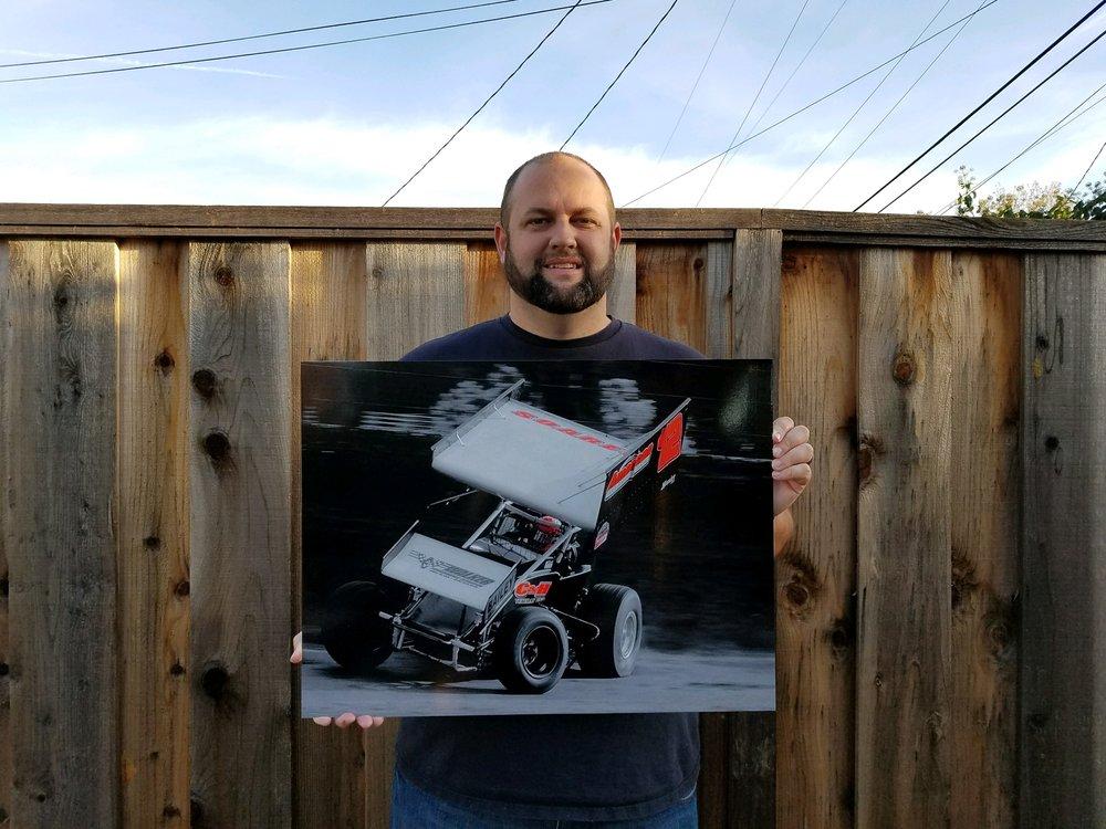 """18"""" x 24"""" Aluminum Print for Steven Soares"""