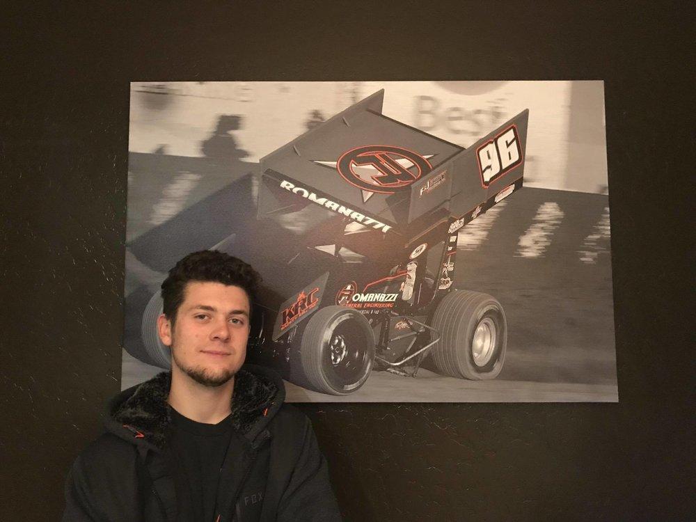 "Luca Romanazzi 32"" x 48"" Canvas Wrapped Print"