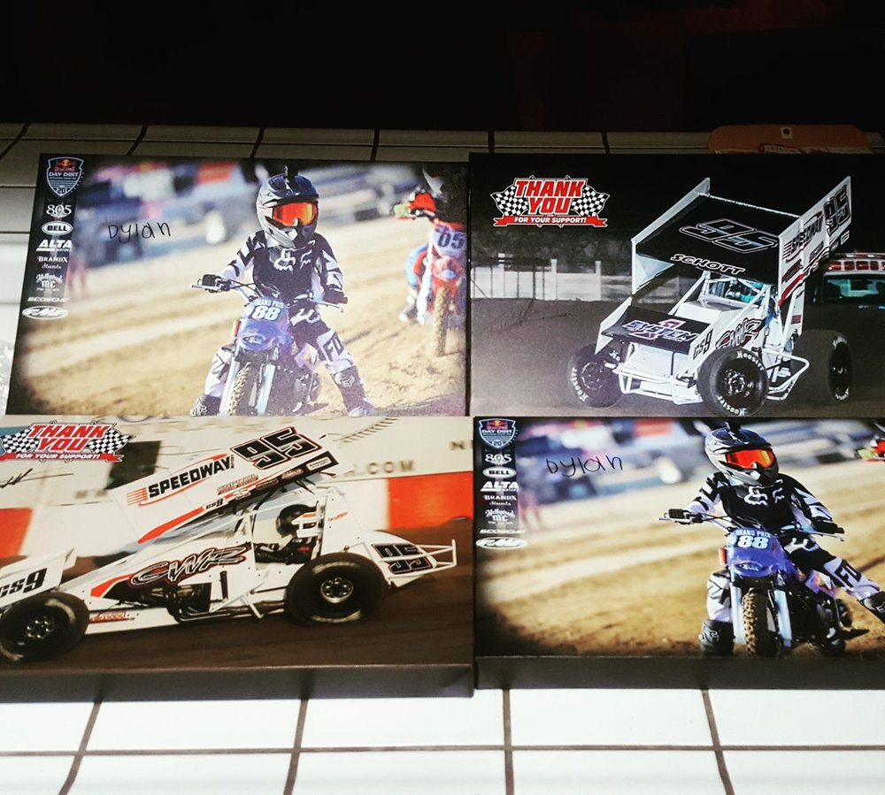 A variety of prints for Tim Williams