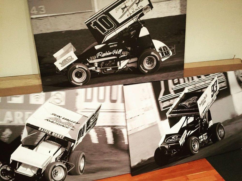 "Three 32"" x 48"" Canvas Wrapped Prints for Jennifer Moles"