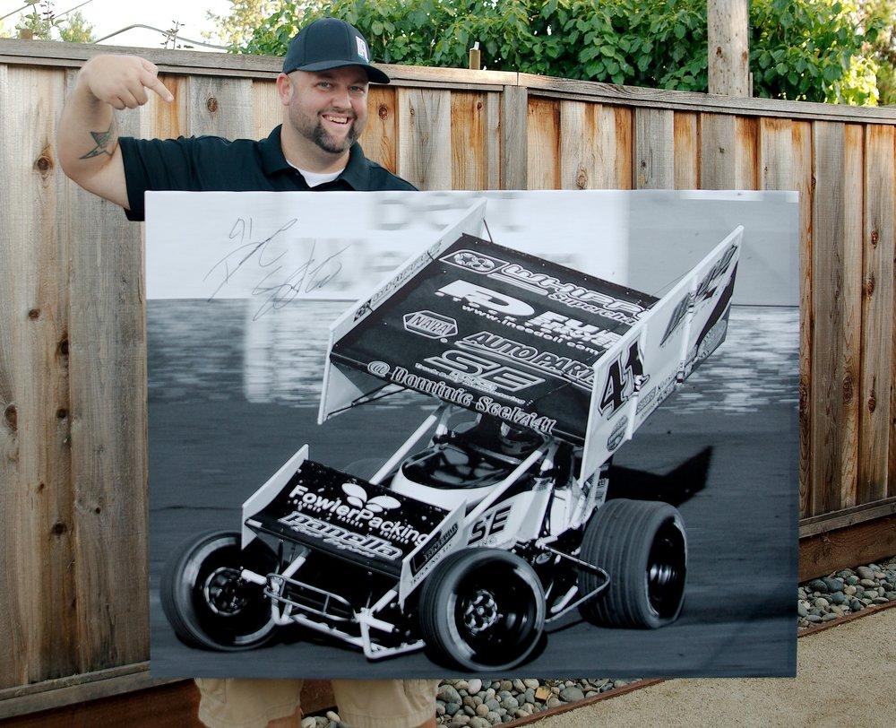 "Dominic Scelzi 32"" x 48"" Canvas Wrap Print"