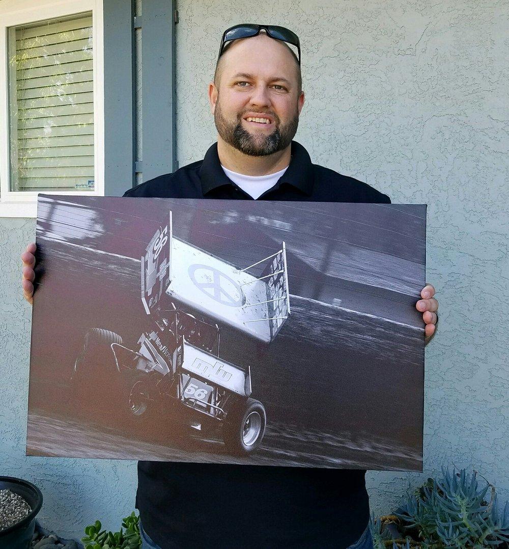 """Ryan Bernal 16"""" x 24"""" Canvas Wrapped Print"""