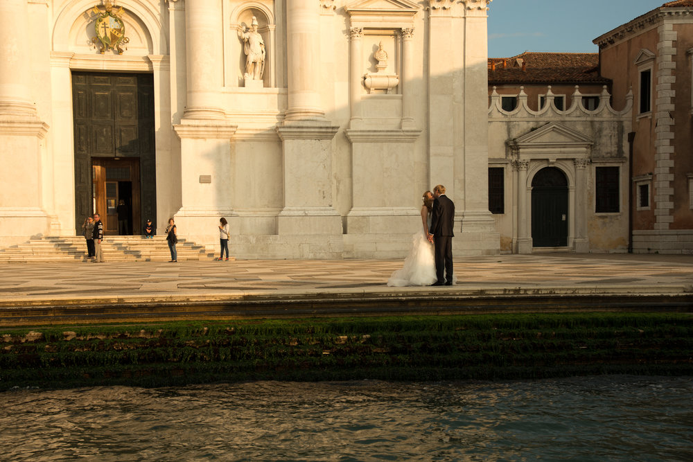 The Kiss Piazza Santa Maria della Salute, Venice
