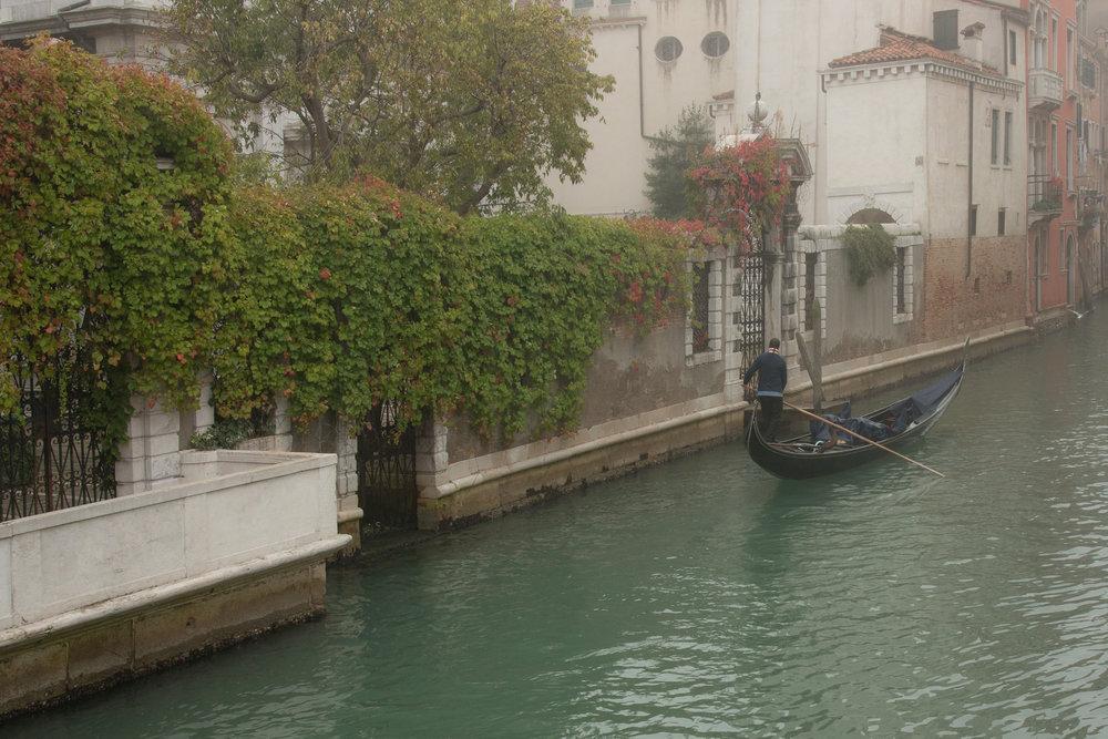 Off to Work Rio del Greci, Venice