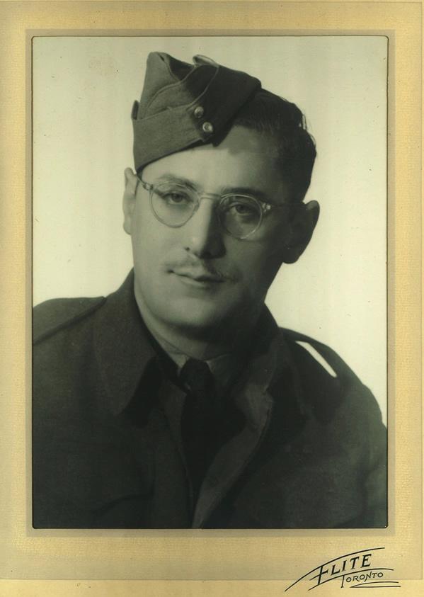 Dave Snider's military photo. circa 1943