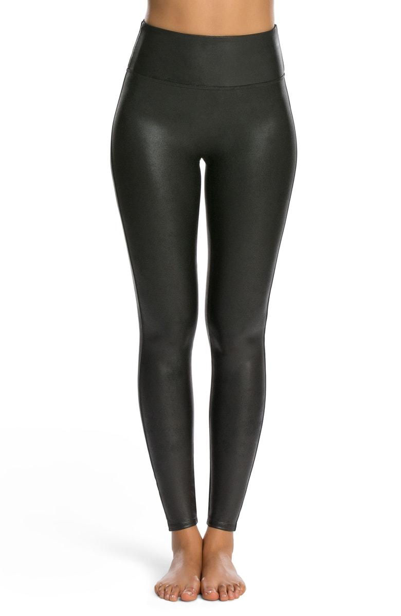 SPANX Faux Leather Leggings - $64 (Value $98)