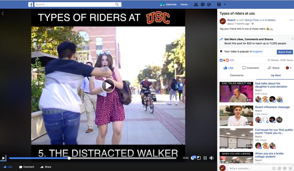 USC   Reach