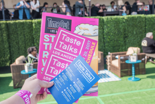 Taste Talks Food Festival, Los Angeles 2017