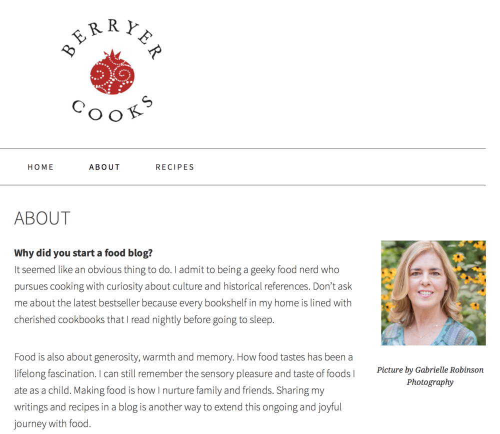 Laura Markson of Berryer Cooks