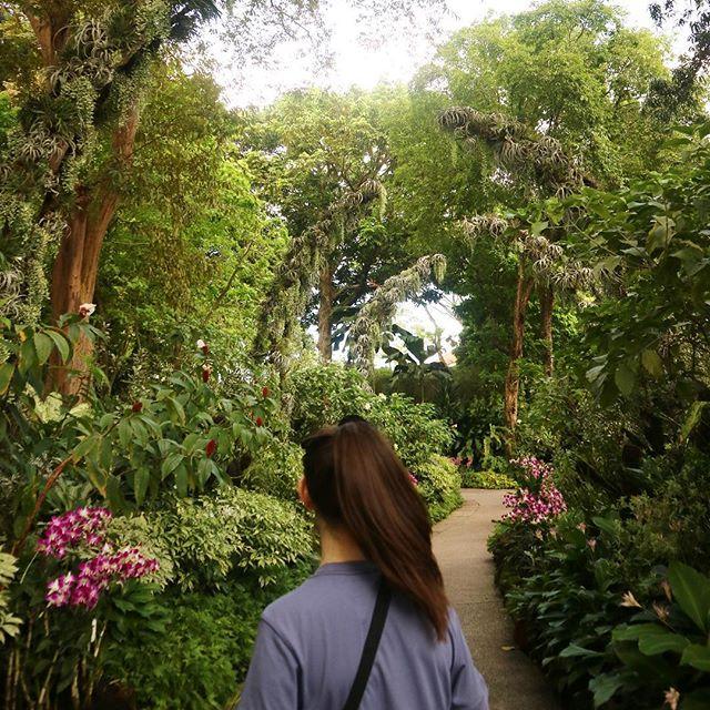 1_ Yuki + Botanical Gardens 💐💐 2_Lesley + KL eco park