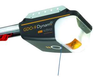 GDO-9 Dynamo    Gen 2 Series 2   - Featuring enhanced power and warranty period, the Series 2 Dynamo™ is suited to the vast majority of sectional single and double doors. The opener can be coupled with our Smart Phone Control Kit for added convenience and peace of mind.The Dynamo™ provides balance between garage door opener performance and affordability. Ideal for busy family homes, it offers an excellent mix of safety systems, TrioCode™128 technology for security and a service reminder to let you know when periodic door maintenance is due. It can be readily upgraded to include battery backup and safety beams for added protection.