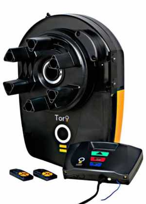 Toro GDO-10 - The Toro® offers sophisticated commercial roller door opening technology and superior pulling power. With built-in Battery Back-up and a wall-mounted control panel you can program a variety of operating modes for your security and safety.A marriage of immense power and sophisticated logic controls, the Toro® can cater for roll-up doors up to 28m2 and high duty cycles. The logic control system, with LCD screen, can manage up to 511 TrioCode™ Garage Door Remotes, and offers time clock controlled access programs, adjustable speed and obstruction settings. A full complement of controlling inputs and outputs are standard, including compatibility with up to three Wireless Safety Beams systems simultaneously. Rounding this out is Soft Start/Soft Stop, Door Profiling, Intelligent Safety System and variable Auto Close settings.