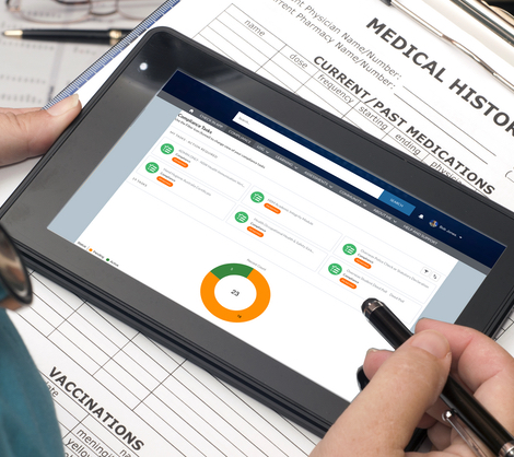 Compliance - No-one likes keeping compliance records up to date.Turn a time consuming, tedious and often disorganised process into an automated, digital experience that suits the needs of students, university admin and your hospital partners alike.A cloud based portal, accessible to your hospital partners, allows record sharing in real-time, anywhere, anytime.