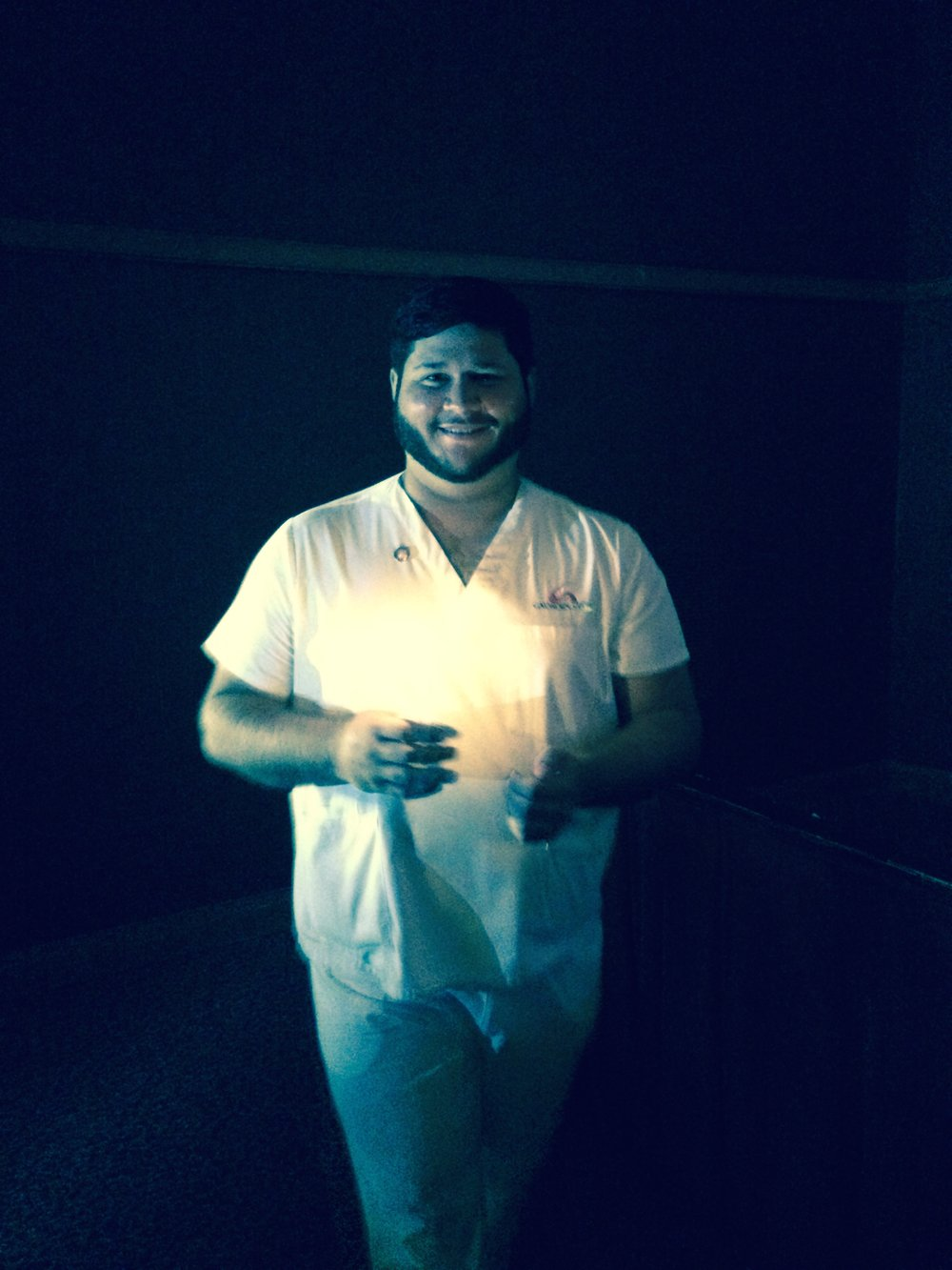 adam graduated from nursing school!
