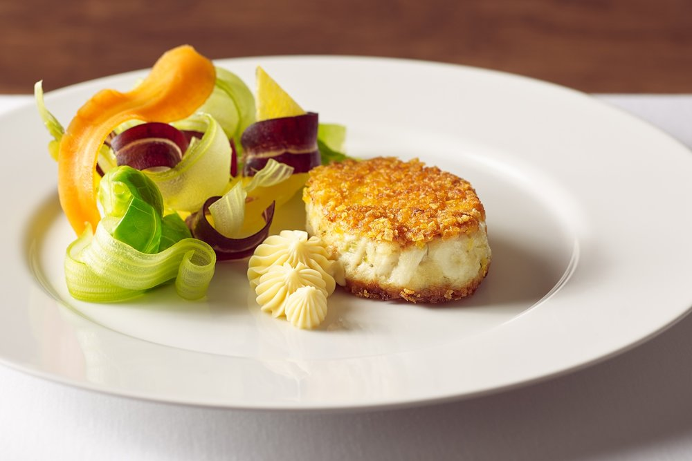 Photo of our Maryland Jumbo Lump Crab Cake