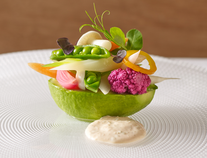 Photo of Chef Thomas Keller's Avocado Louie