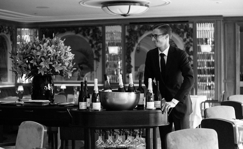 Photo of the sommelier at The Surf Club Restaurant