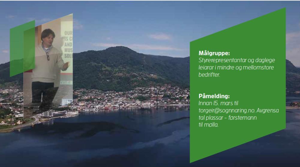styrekurs i Sogndal