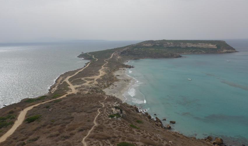 Sinis marine regional park, italy -