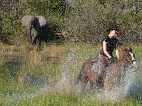RIDING IN KENYA, BOTSWANA & NAMIBIA
