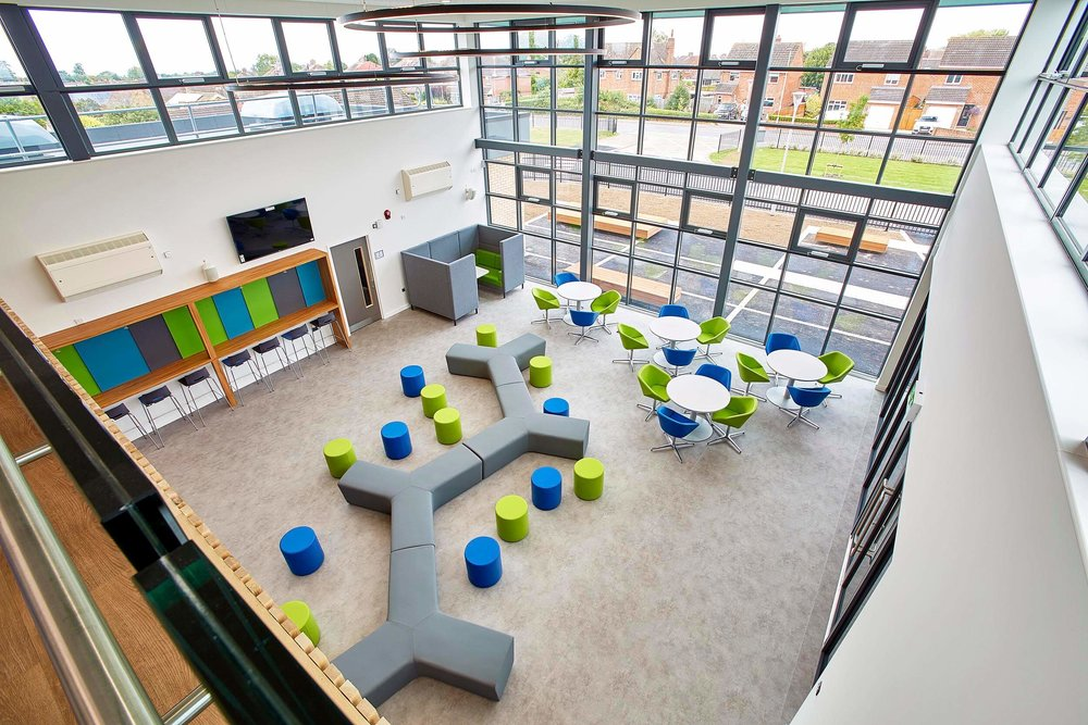 Cleeve School open workspace