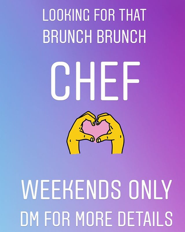 We're looking for a brunch chef! We want you real bad... DM us for more details! #applebluepatisserie #londonjobs #london #chef #chefjobslondon #chefjob #chefsjob #food #foodie