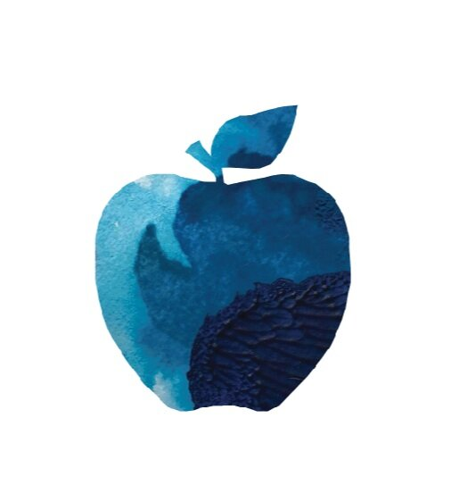The Apple Blue
