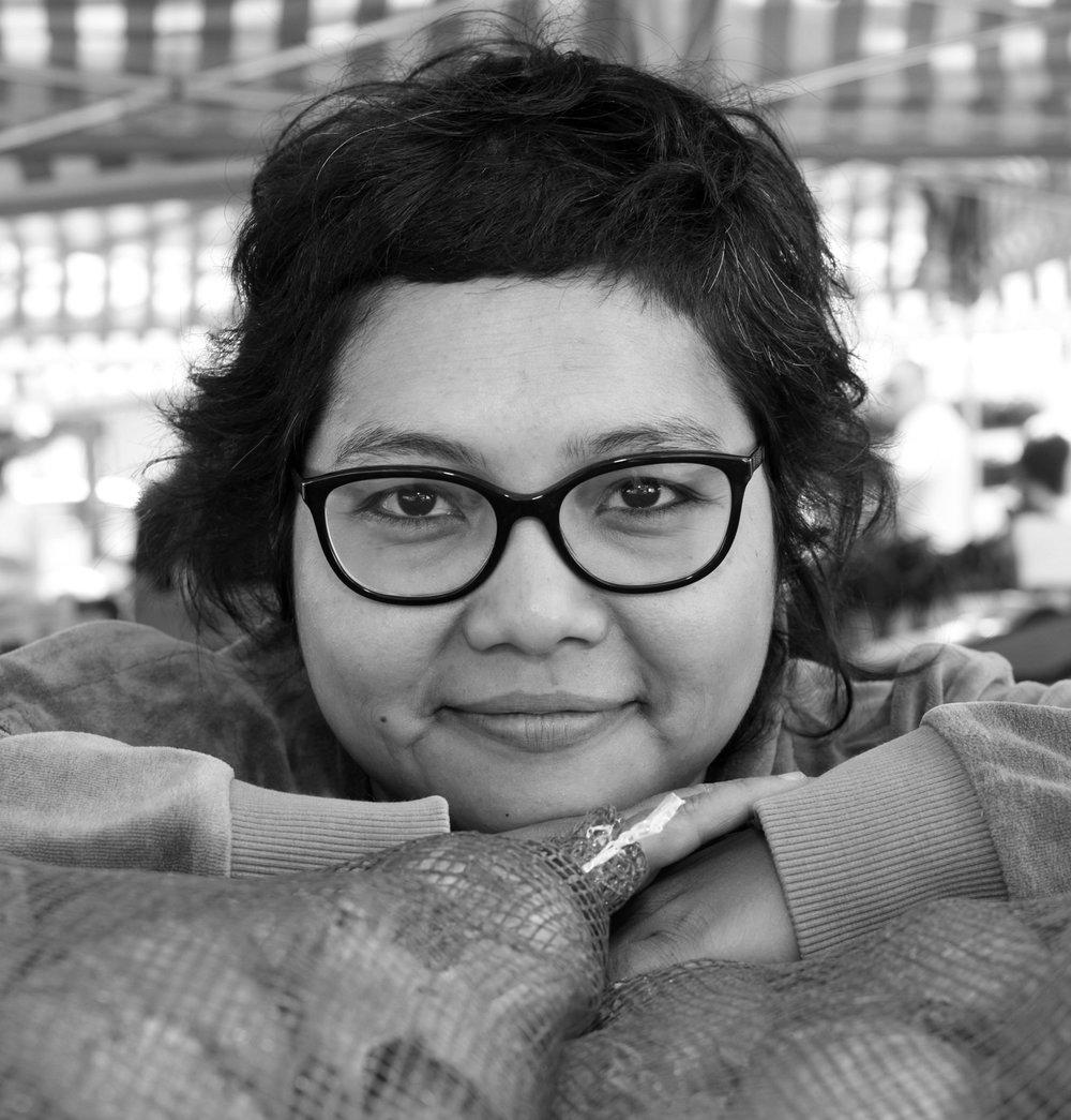Zeenath Hasan   Cultural interventionista . Senior lecturer at Linnaeus University Department of Design.
