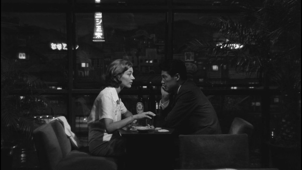 Screen capture from  Hiroshima Mon Amour , 1959