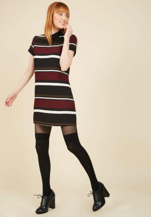 Modcloth // Presentation Day Posh Shirt Dress