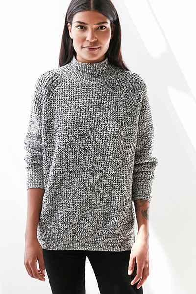Urban Outfitters // BDG Waffleknit Turtleneck Sweater