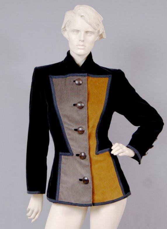 1980s Yves Saint Lauren YSL Rive Gauche Vintage Jacket
