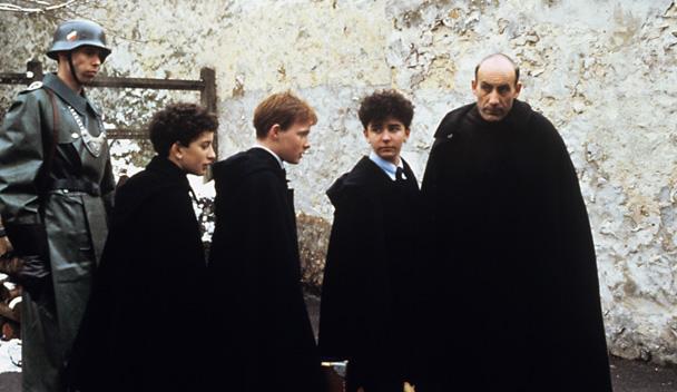 Screen capture from  Au revoir les enfants , 1987