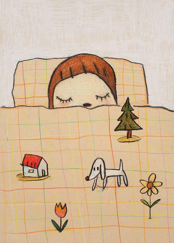 by Yoshitomo Nara