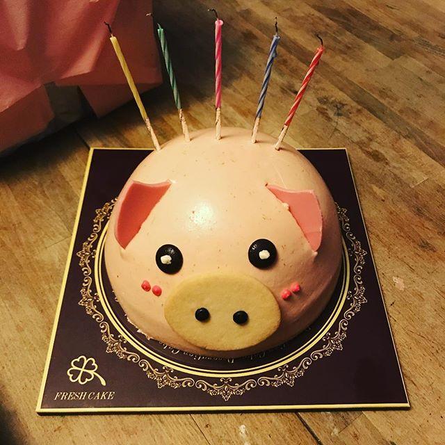 #pig #cake