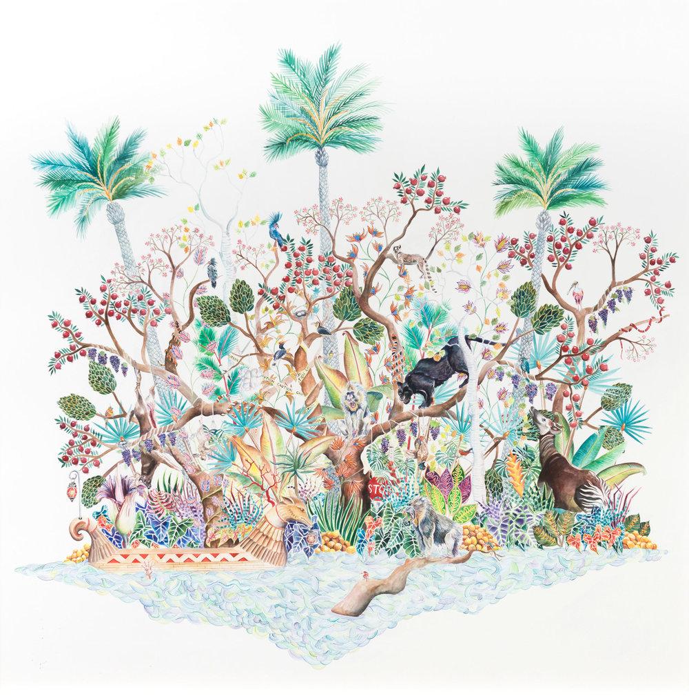 Robin-Crofut-Brittingham-Oasis-2018-Watercolour-on-paper-42-in-x-42-in.jpg