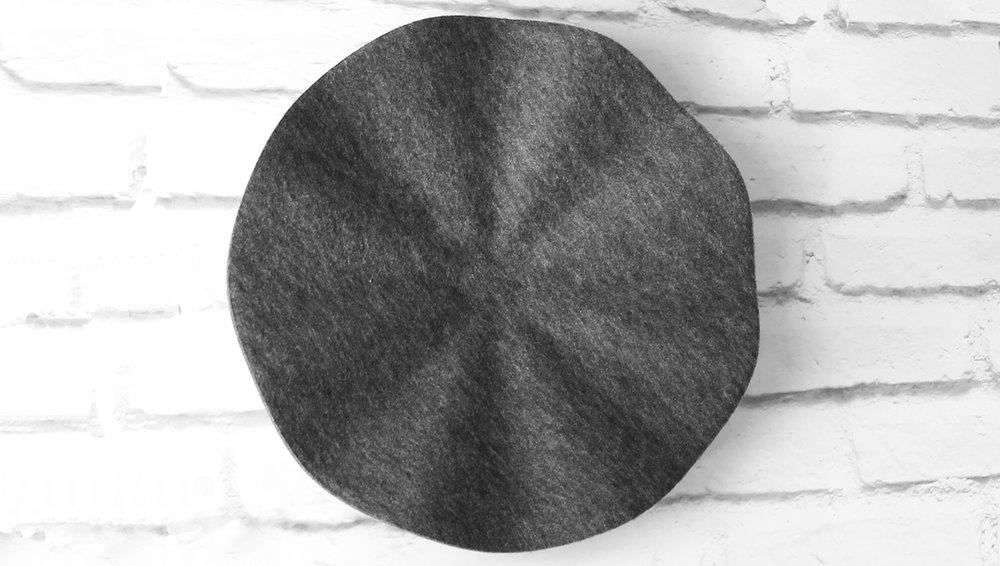 Flutter Wall Panel (Small, Dark Grey) 3D View.jpg